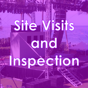Site Visits & Inspection